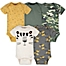 Part of the Gerber® Onesies® 5-Pack Tiger Bodysuits in Green/Gold