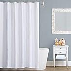 Seaspray Matelasse 72-Inch x 72-Inch Shower Curtain