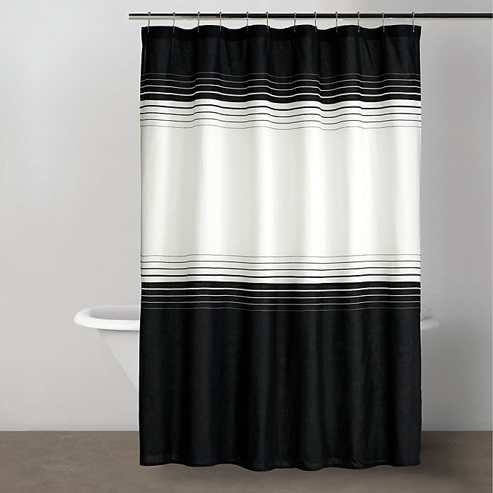 Alternate image 1 for DKNY Empire Collection 72-Inch x 72-Inch Shower Curtain