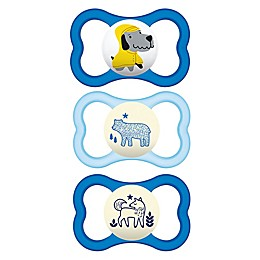 MAM Air Day/Night 16M-36M 3-Pack Pacifiers