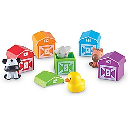 Learning Resources® Peakaboo Learning Farm Toy Playset