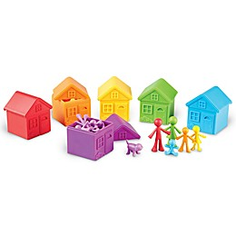 Learning Resources® All About Me Sorting Neighborhood Toy Playset