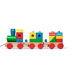 Melissa & Doug® Classic Jumbo Wooden Stacking Train