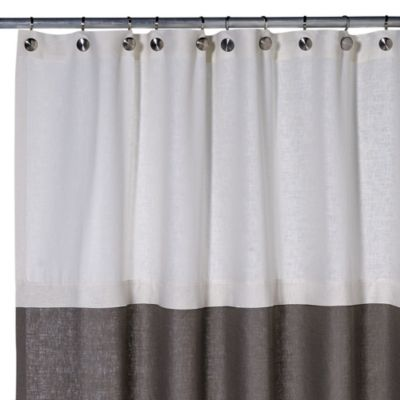 Soho Linen Shower Curtain