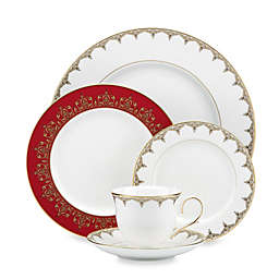 L by Lenox® Jeweled Saree™ Gold Dinnerware Collection