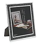Oleg Cassini 8-Inch x 10-Inch Crystal Hematite Picture Frame