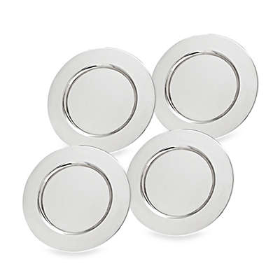 Godinger Stainless Steel Charger Plates (Set of 4)