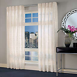 Designer's Select Maximus Sheer Inverted Pleat Window Curtain Panel