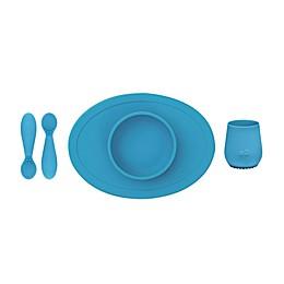 ezpz 4-Piece First Foods Set in Grey