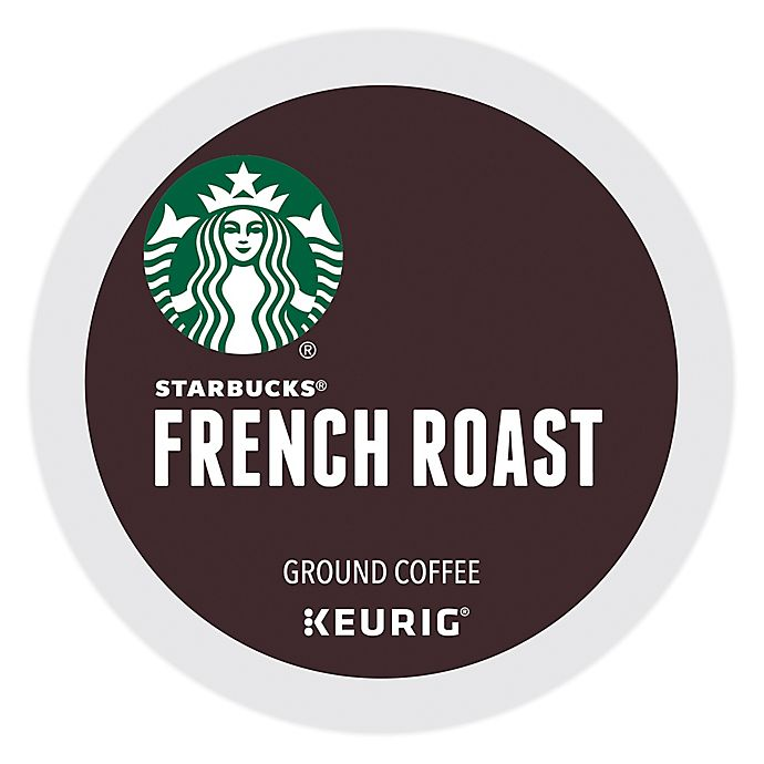 Alternate image 1 for Starbucks® French Roast Coffee Keurig® K-Cup® Pods 22-Count