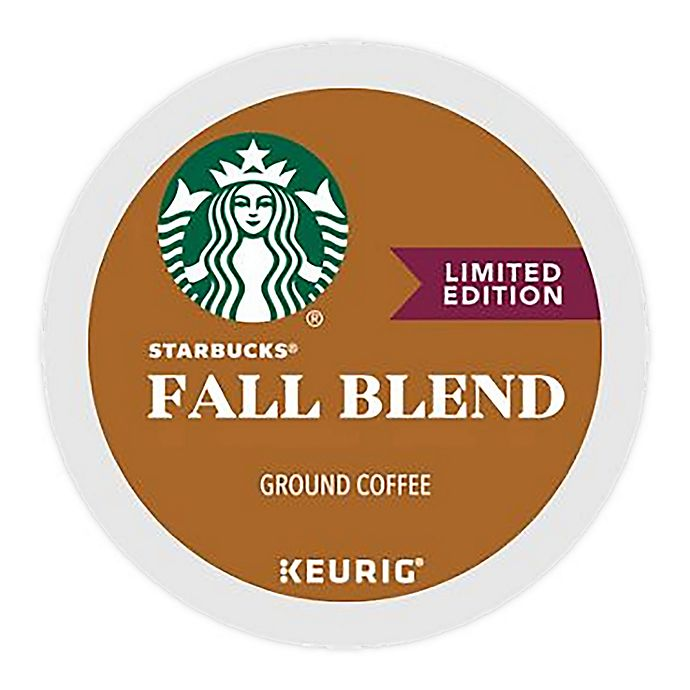 Alternate image 1 for Starbucks® Fall Blend Coffee Keurig® K-Cup® Pods 22-Count