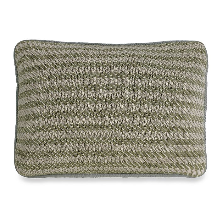 Alternate image 1 for HiEnd Accents Arlington Knitted Oblong Throw Pillow