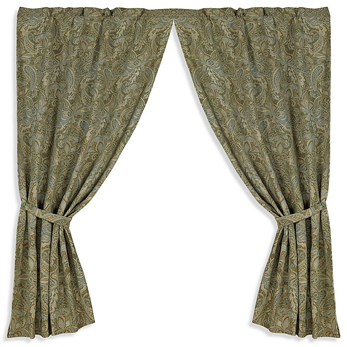 Alternate image 1 for HiEnd Accents Arlington 84-Inch Window Curtain Panel