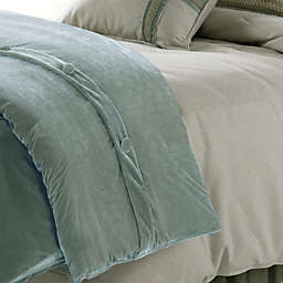 HiEnd Accents Arlington Velvet Duvet Cover Set