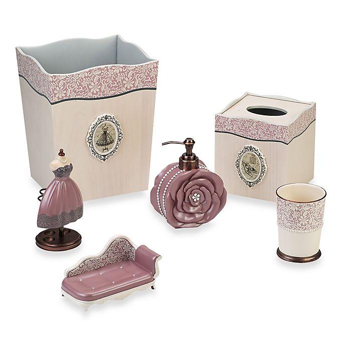Bed Bath And Beyond Bath Accessories: Avanti Juliet Bathroom Accessories