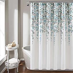 Lush Decor 72-Inch x 72-Inch Weeping Flower Shower Curtain
