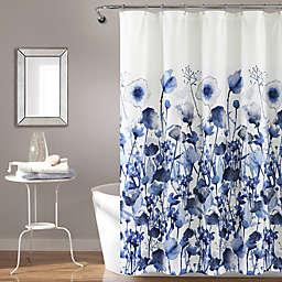 Lush Decor 72-Inch x 72-Inch Zuri Flora Shower Curtain