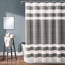 Lush Decor 72-Inch x 72-Inch Cape Cod Stripe Shower Curtain
