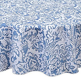 Paisley Scroll Round Indoor/Outdoor Tablecloth