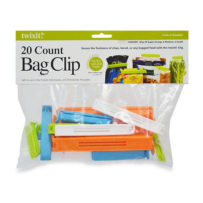 Alternate image 1 for twixit!® 20-Piece Bag Clips