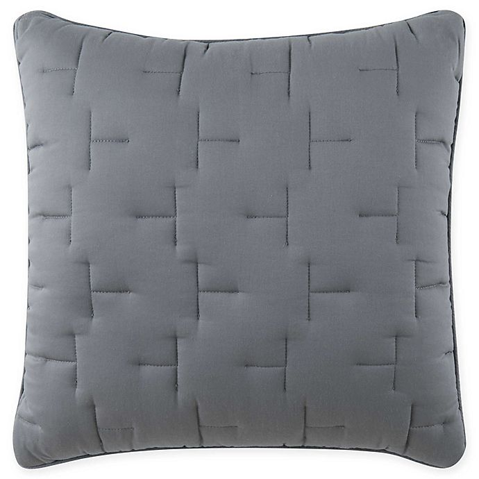 Alternate image 1 for O&O by Olivia & Oliver™ Lofty Stitch European Pillow Sham