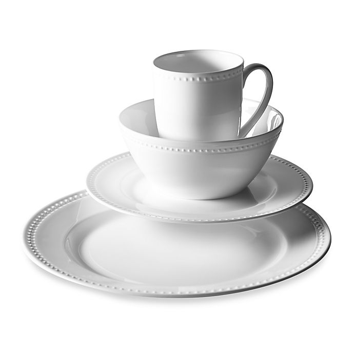 Alternate image 1 for Tabletops Unlimited® Otella Bone China 16-Piece Dinnerware Set
