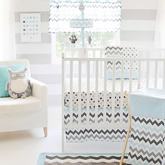 My Baby Sam Chevron 3 Piece Crib