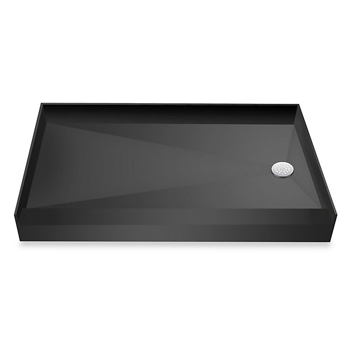 Alternate image 1 for Tile Redi USA® Redi Base® 31-Inch x 60-Inch Single Curb Shower Pan with Right Drain