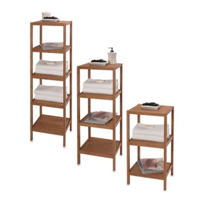 Bed Bath And Beyond Bamboo Bathroom Storage