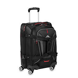 High Sierra® AT-7 Carry On Spinner Convertible Backpack and Duffle in Black