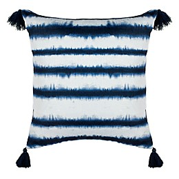 Safavieh Cassia Striped Throw Pillow in Navy/White