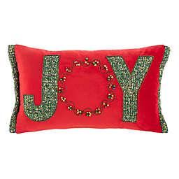 Safavieh Cinnamon Oblong Throw Pillow in Red/Green