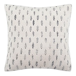 Safavieh Fanla Square Throw Pillow in Black/White