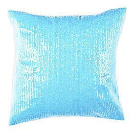 Safavieh Gaila Square Throw Pillow in Blue