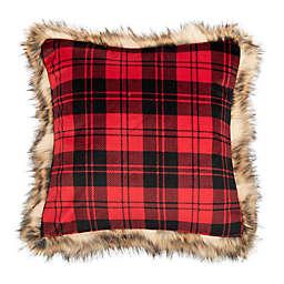 Safavieh Randi Square Throw Pillow in Brown/Red