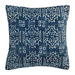 Safavieh Rex Square Throw Pillow in Indigo