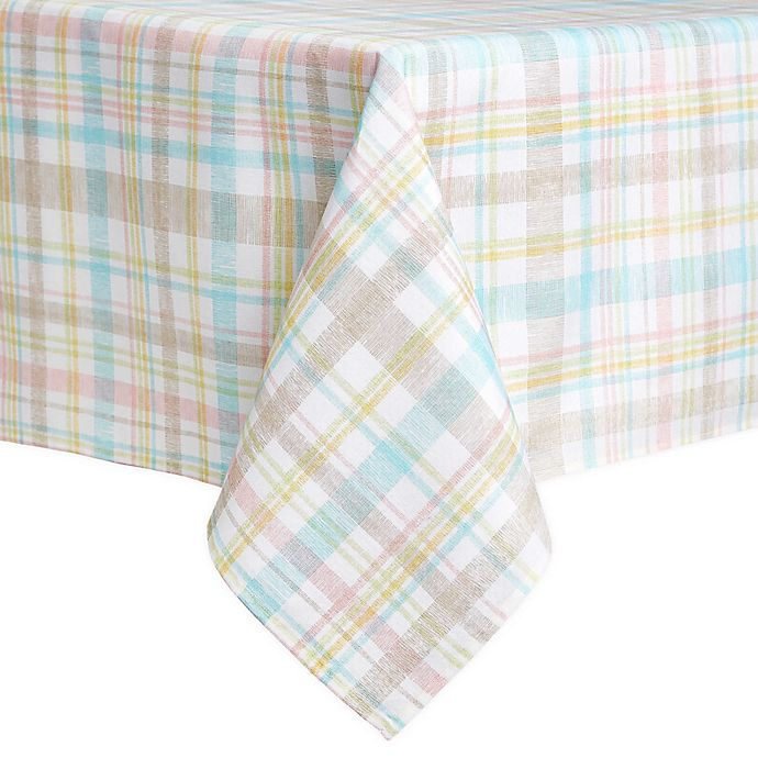 Alternate image 1 for Spring Medley Plaid Table Linen Collection