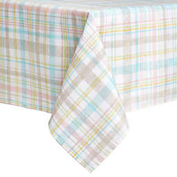 Spring Medley Plaid Tablecloth
