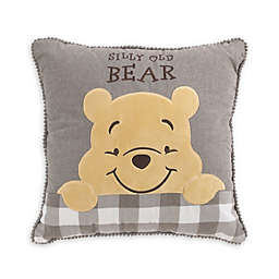 "NoJo® Disney® Winnie The Pooh ""Silly Old Bear"" Toddler Children's Throw Pillow"