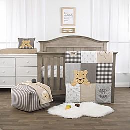Disney Winnie The Pooh Hunny & Me 3-Piece Crib Bedding Set in Grey