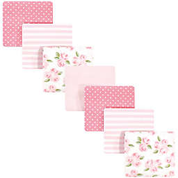 Little Treasure™ 7 Pack Floral Receiving Blankets in Pink