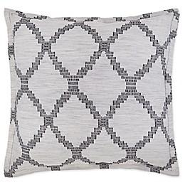 Global Caravan Zanzibar European Pillow Sham in Grey