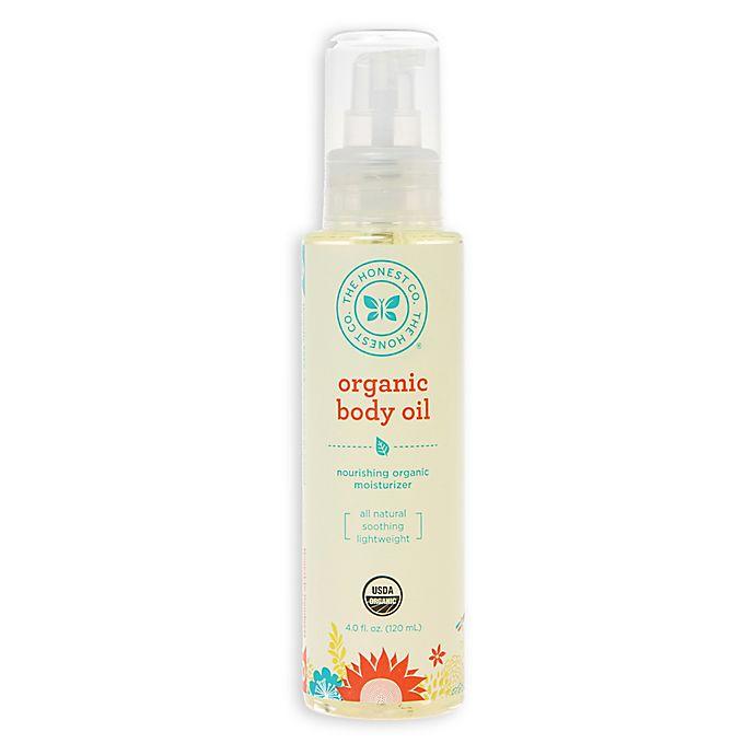 Alternate image 1 for Honest 4-Ounce Organic Body Oil