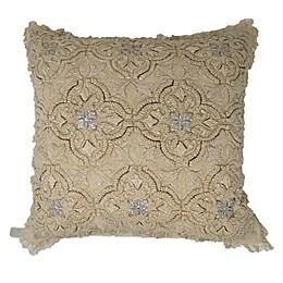 Global Caravan Jaipur Medallion Square Throw Pillow