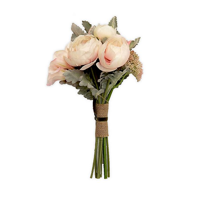 Alternate image 1 for New York Botanical Garden® Bouquet Collection-Marianne/Ranunculus/Blush
