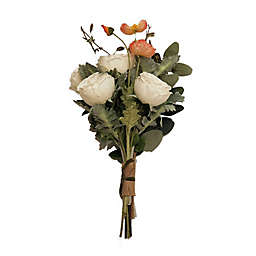New York Botanical Garden®  Jocelyn Large Faux Poppies Bouquet in Peach
