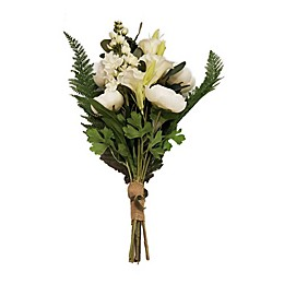 New York Botanical Garden® Christine Large Faux Gladiolas Bouquet in White
