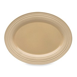 Mikasa® Swirl Oval Platter in Tan