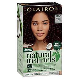 Clairol Natural Instincts 2RV/38 Blackberry Burgundy Black Semi-Permanent Hair Color
