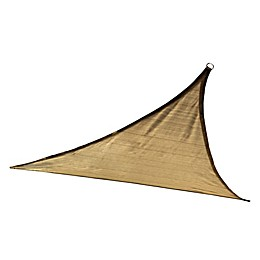ShelterLogic® Triangle 16-Foot and 12-Foot Sun Shade Sails in Sand